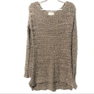 Anthropologie Ruby Moon Knit Sweater